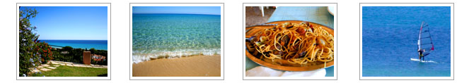 Costa Rei: beaches, sea and...